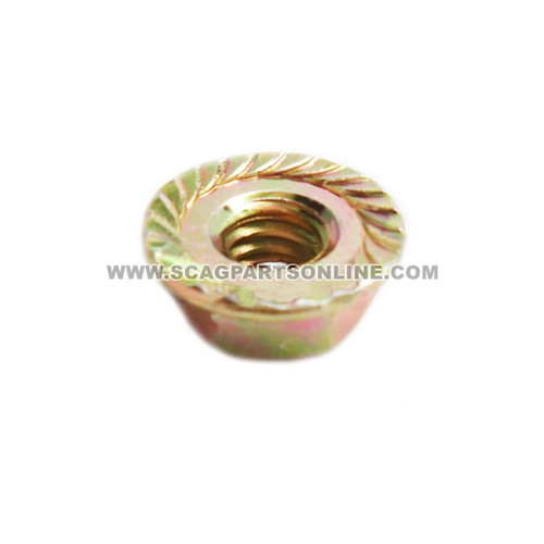 Scag NUT, 1/4-20 SERR FLG HH ZINC 04019-02 - Image 2