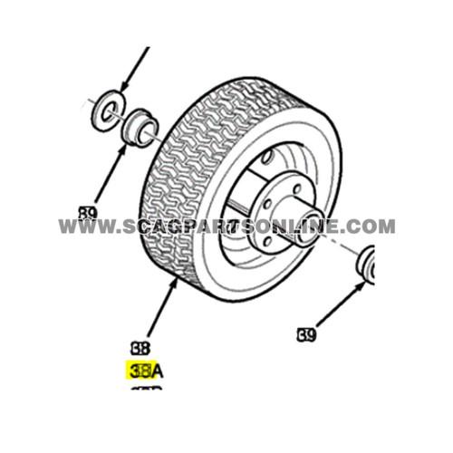 Scag Tiger Cat Tires 481860 OEM