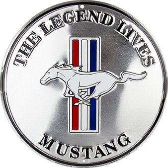Mustang Legend Lives Garage Sign