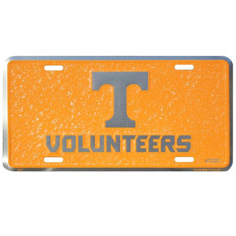 HangTime Tennessee Vols  mosaic license plate