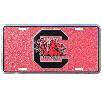 HangTime South Carolina Gamecocks  mosaic license plate