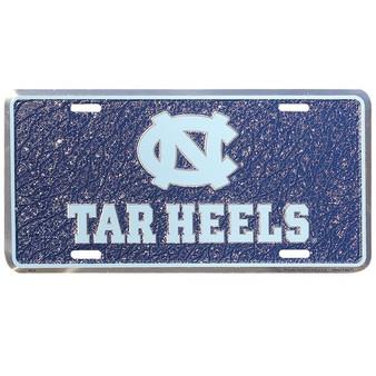 HangTime UNC Tarheels  mosaic license plate
