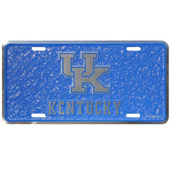 HangTime Kentucky Wildcats  mosaic license plate