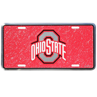 HangTime Ohio State  mosaic license plate