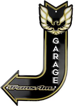 HangTime Trans Am Garage J arrow sign