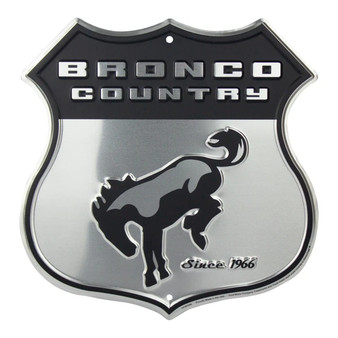 HangTime Bronco Country route sign