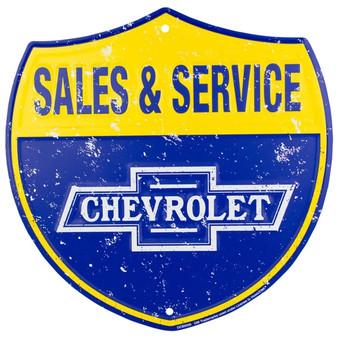 HangTime Chevrolet Sales & Service route sign