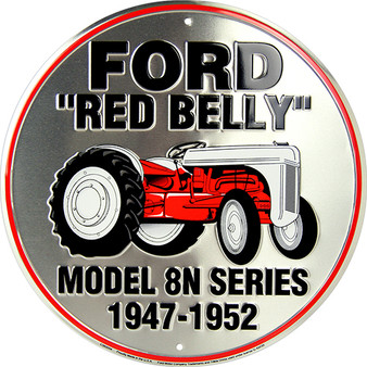 Ford Red Belly circle sign
