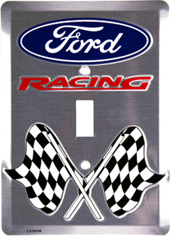 Ford Racing single pole light switch plate