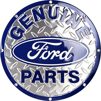 Genuine Ford Parts Garage sign