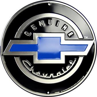 Genuine Chevrolet garage sign