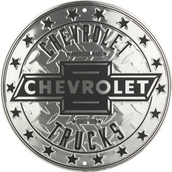 Chevrolet Trucks garage sign