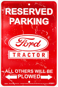 HangTime Ford Tractor Reserved Parking - All Others will be Plowed