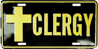 Hangtime Clergy Religious license plate