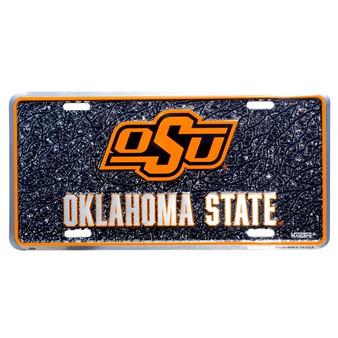 Hangtime Oklahoma State Cowboys mosaic license plate