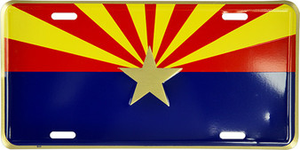 Hangtime Arizona Startburst novelty license plate 6 x 12