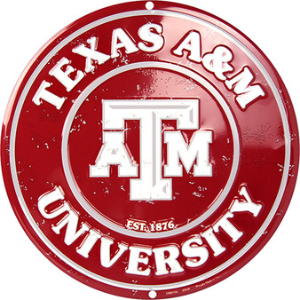 Hangtime Texas A & M nostalgia sign