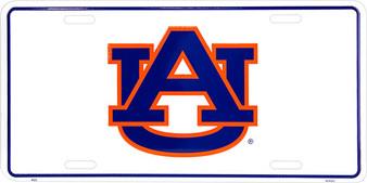 Auburn War Eagles AU license plate 6 x 12