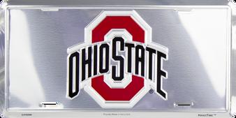 Ohio State Buckeyes Super Stock license plate 6 x 12