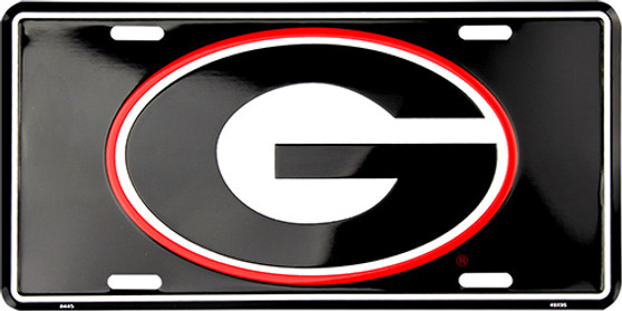 HangTime Georgia Bulldog  Super G license plate