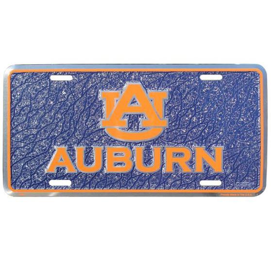 HangTime Auburn  mosaic license plate