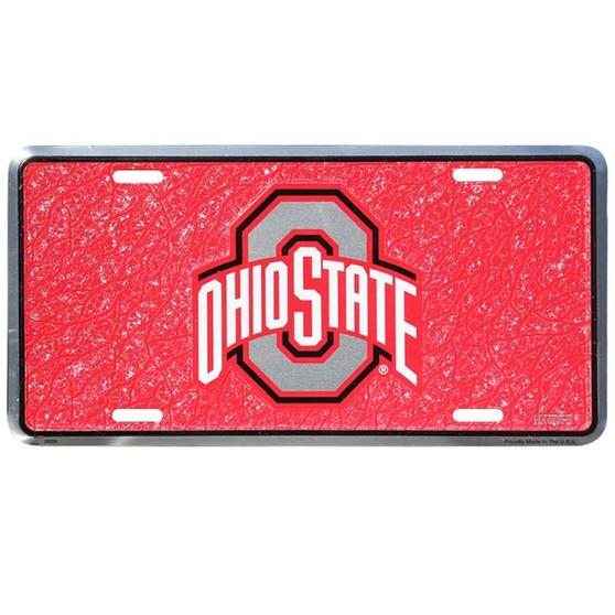 HangTime Ohio State  mosaic license plate