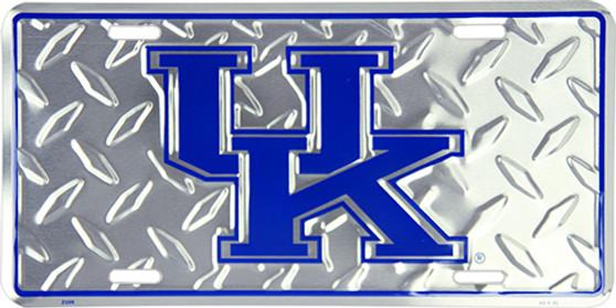 Hangtime Kentucky Wildcats diamond background license plate