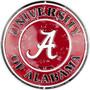 HangTime Alabama Crimson TIde  12 inch circle sign