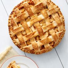 Fresh Baked Apple Lattice Pie