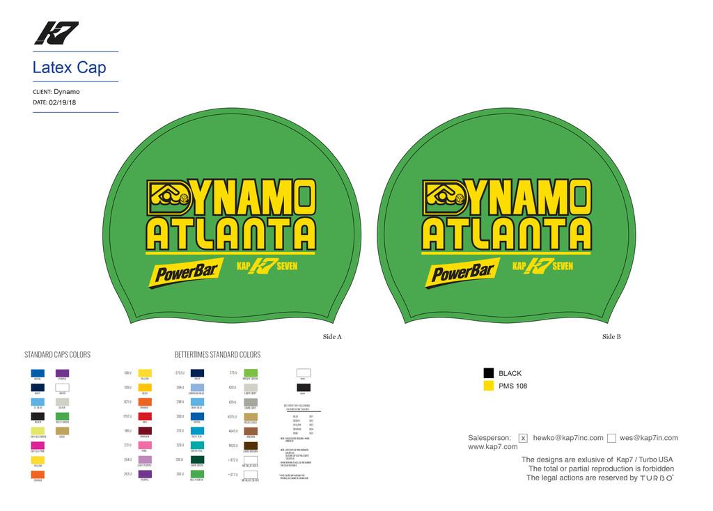 Dynamo Green Latex Cap