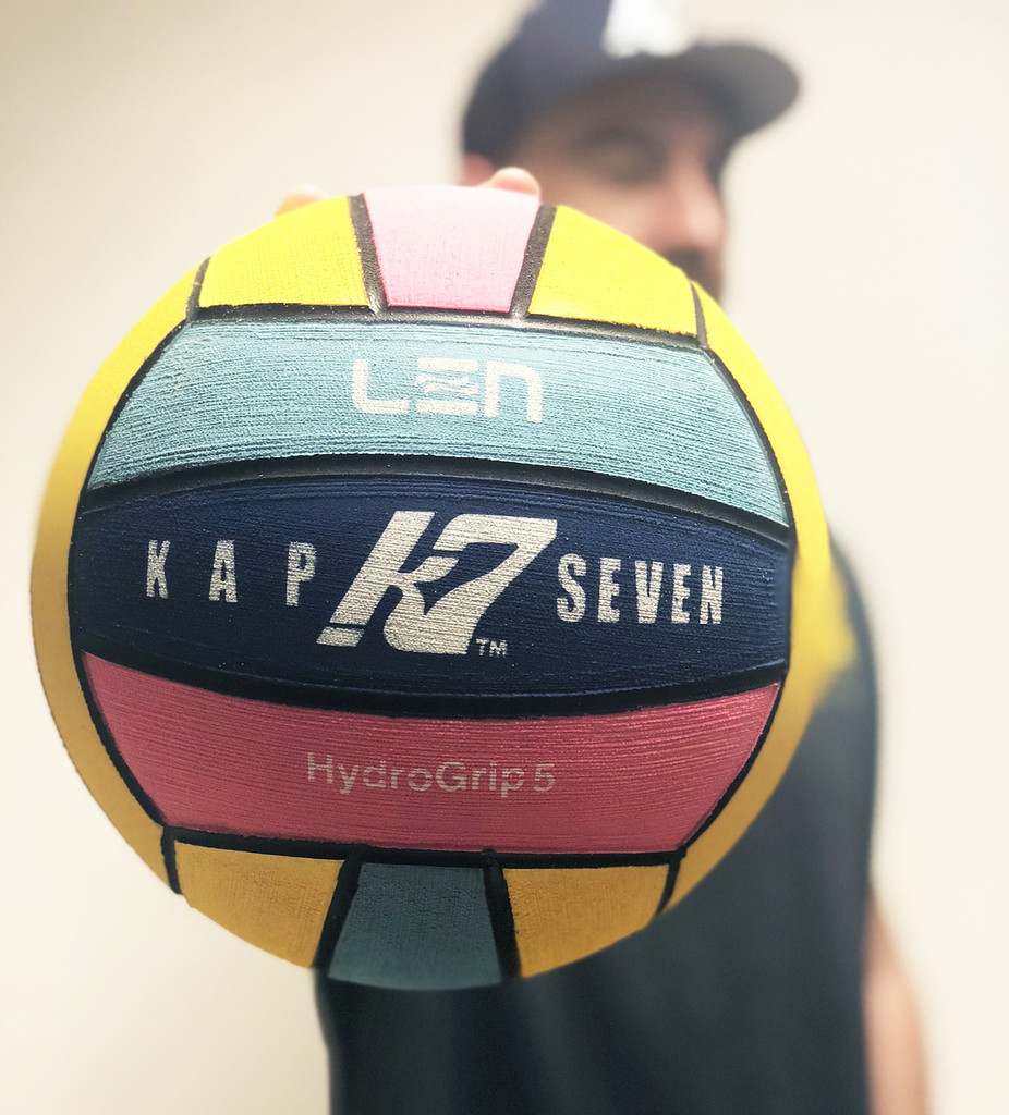 LIMITED Edition KAP7 2018 LEN European Championship Game Ball