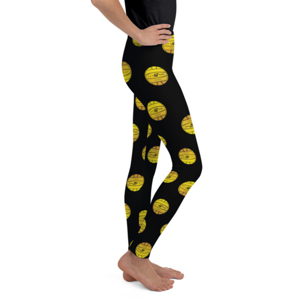 Kap7 Yellow Ball Youth Leggings