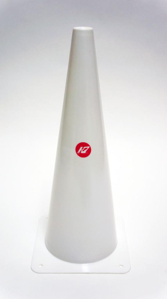 K7 Half Pool White Cone Marker