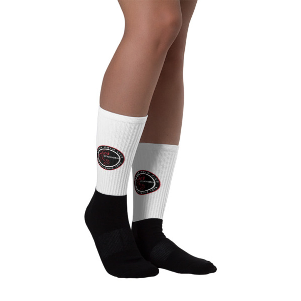 Stanford Club Socks- Black Foot Sublimated Socks