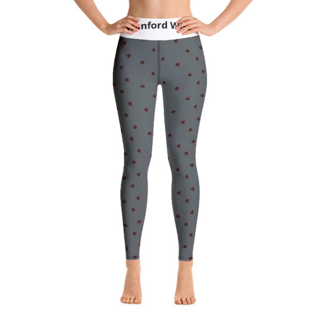 Stanford WPC Mom- All-Over Print Yoga Leggings
