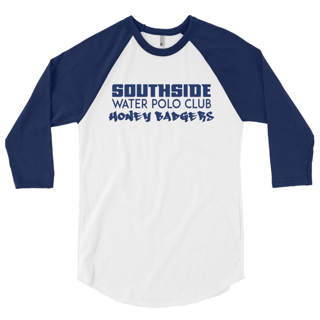 Southside 3/4 sleeve raglan shirt