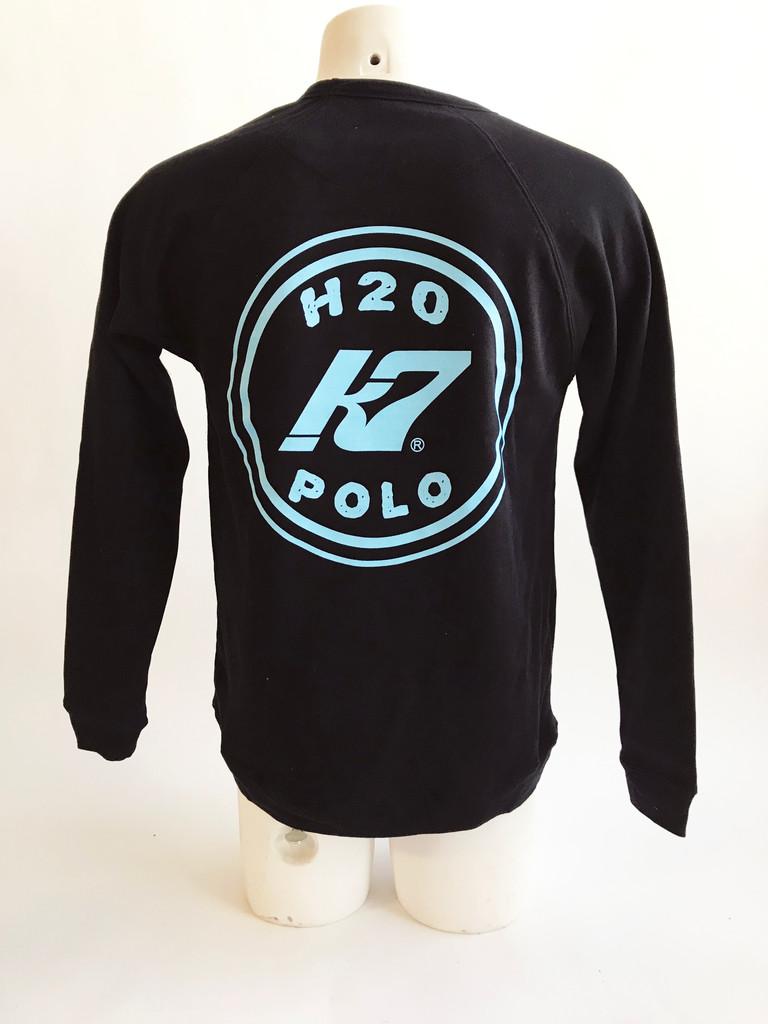 KAP7 Branded Toddland Super Soft Sweatshirt- Black