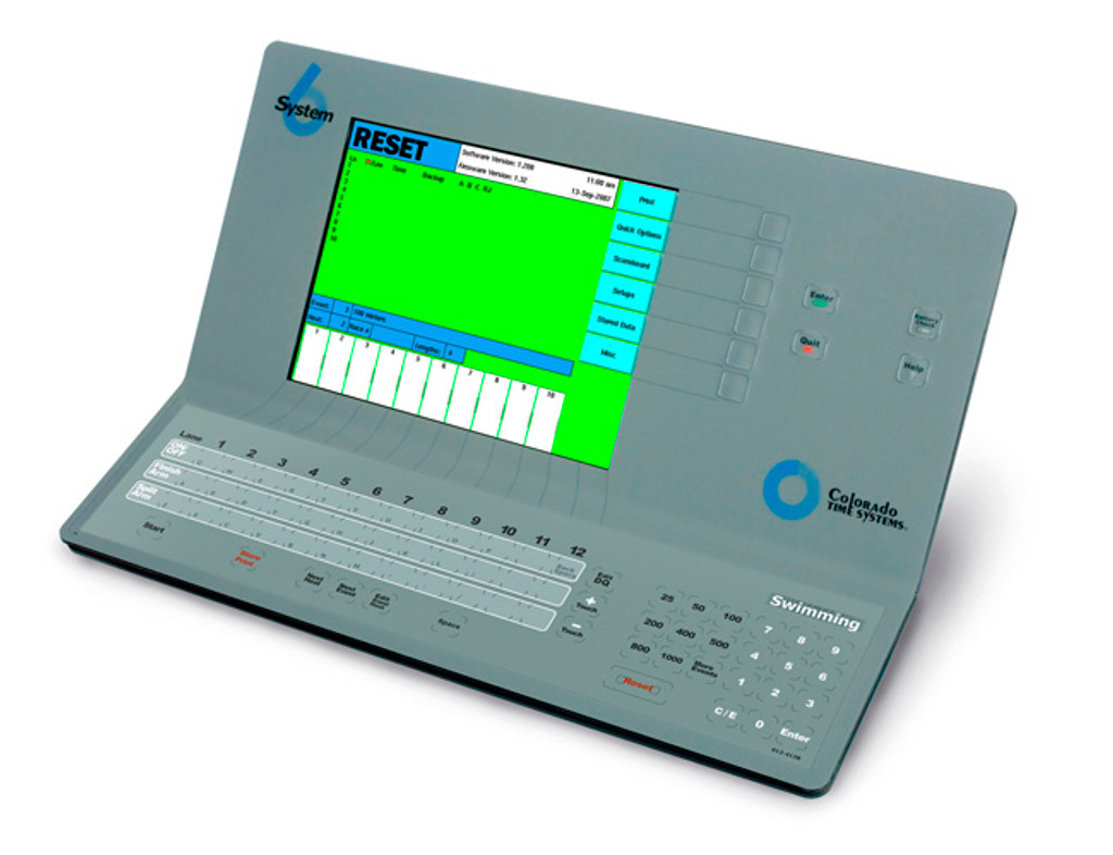 Colorado System 6 Swimming and Water Polo Timing Console