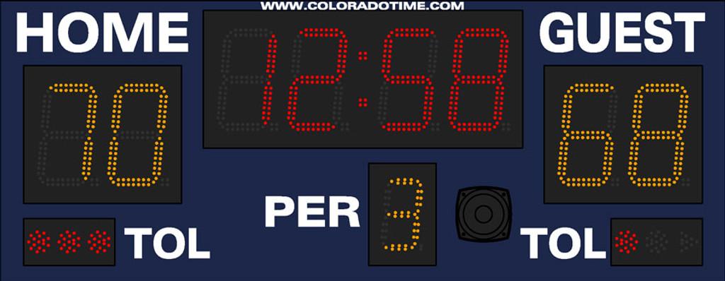 Colorado Time System Portable Scoreboard