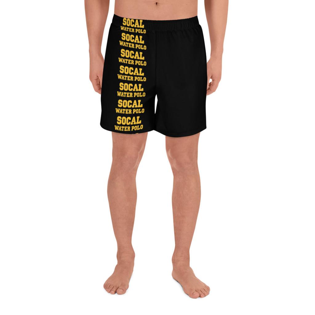 SOCAL Men's Athletic Long Shorts