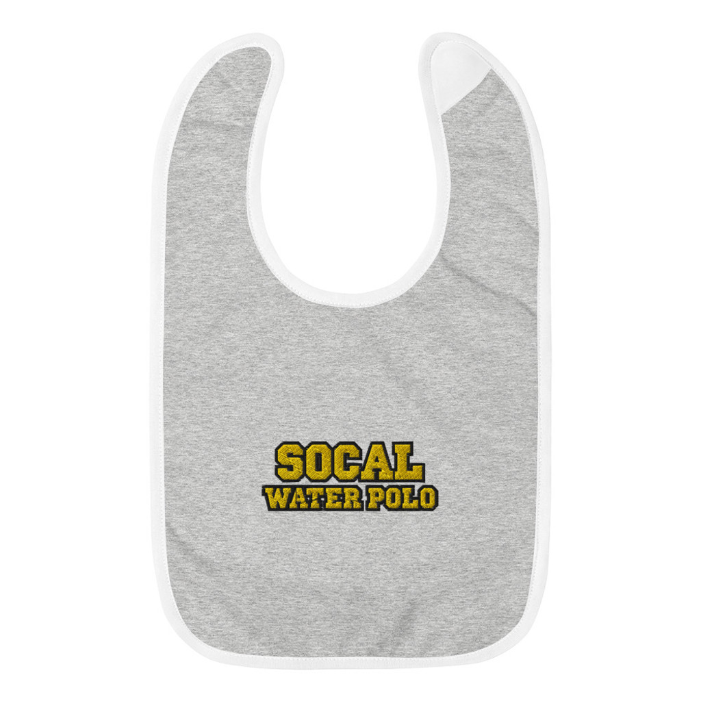 SOCAL 2019 Embroidered Baby Bib