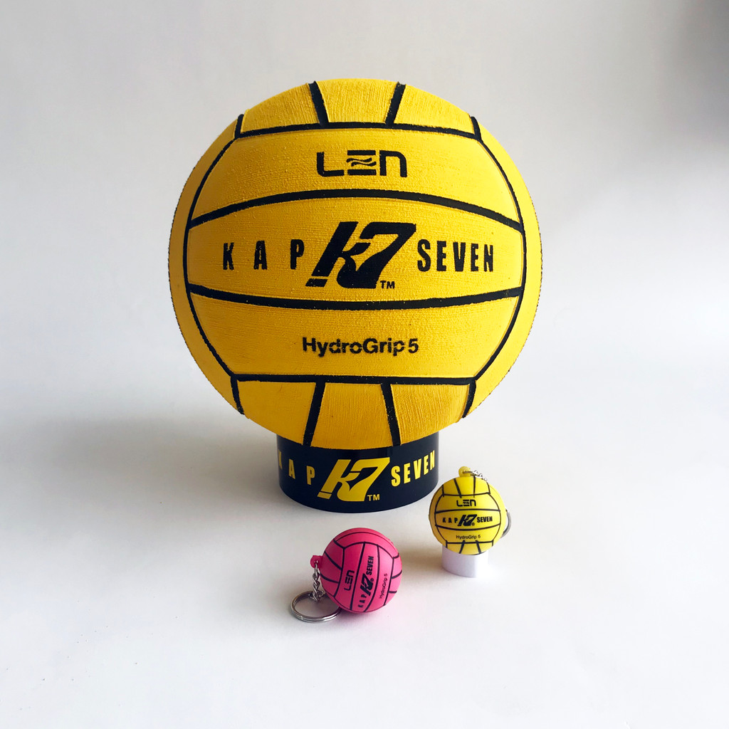 K7 Key Chain Stress Ball - Pink