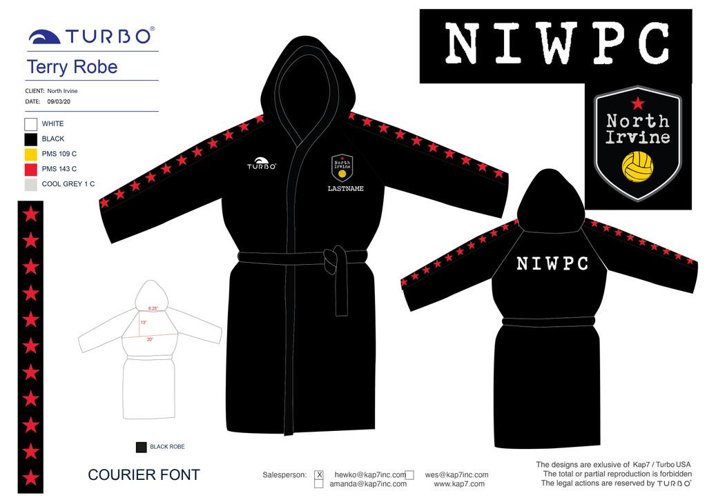 North Irvine Water Polo Robe
