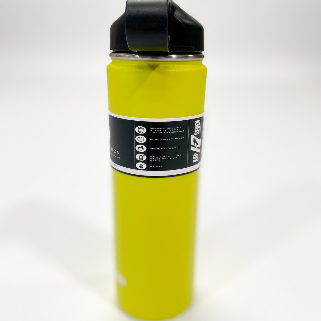 K7 22oz Stainless Steel  Water Bottle - Yellow