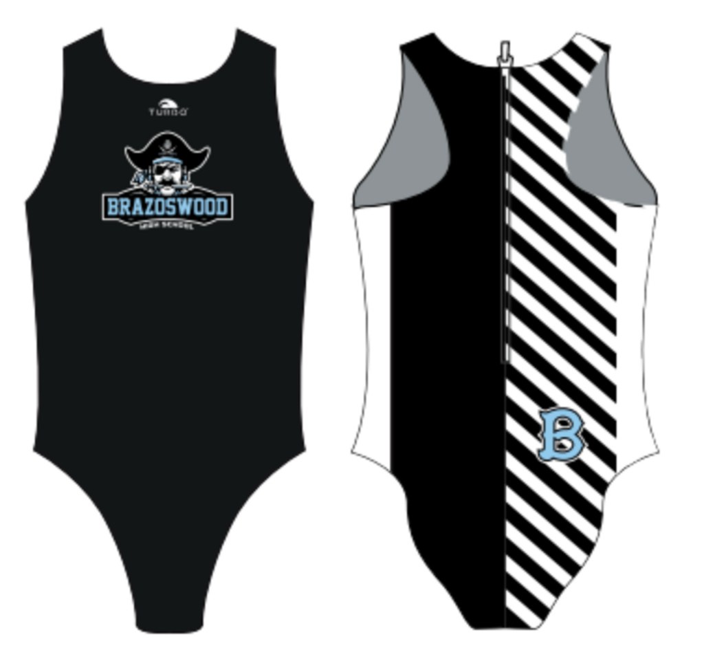 Brazoswood TURBO Womens Flash Water Polo Suit