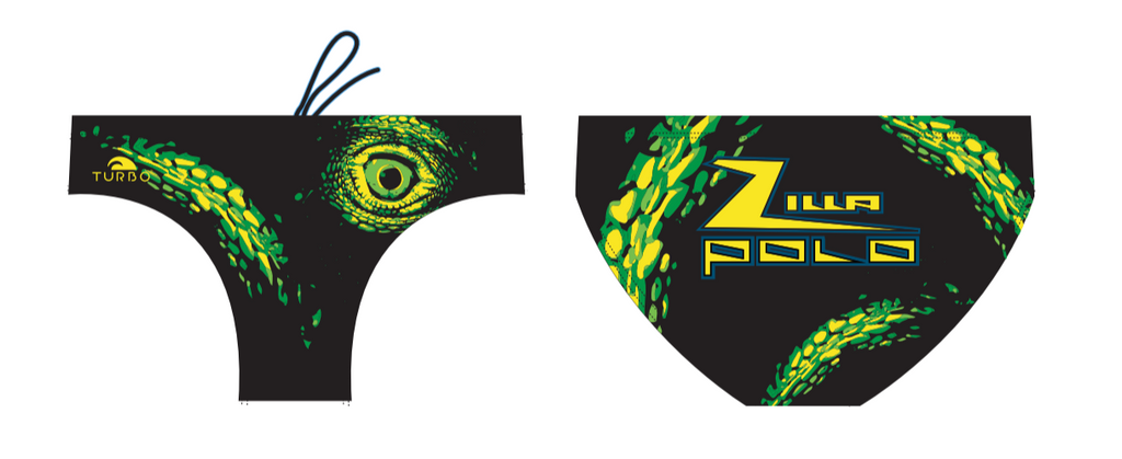 Zilla TURBO Mens Water Polo Suit