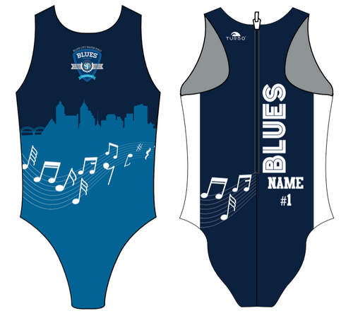 Bluff City Flash Womens Water Polo Suit