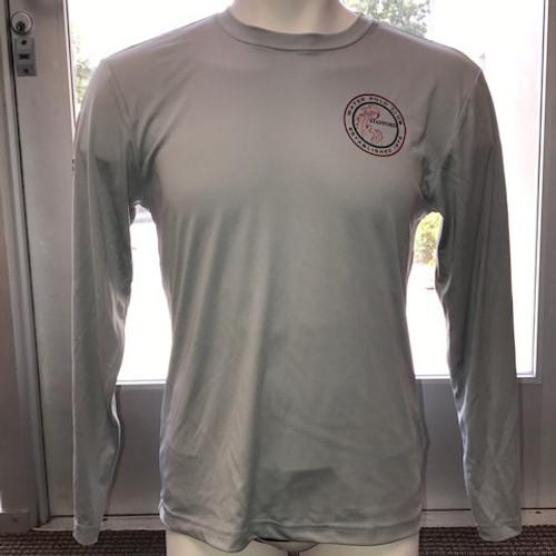 Stanford Long Sleeve Dri-Fit Shirt - Gray