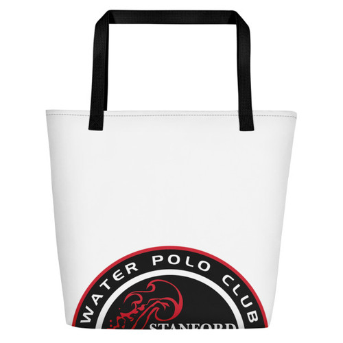 Stanford WPC- All-Over Print Beach Bag