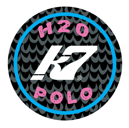 H20 Polo Wave Pink and Blue